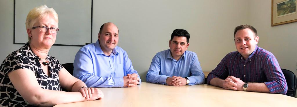 Cristie Software sales team